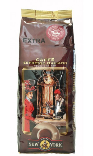 Caffe New York EXTRA Espresso 500g bönor