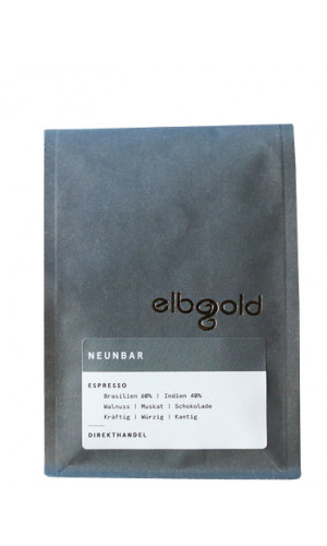 Elbgold Espresso nine-bar 250g whole bean