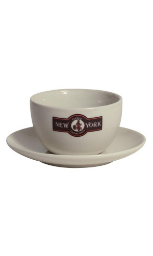 Caffe New York Kaffe Latte kopp