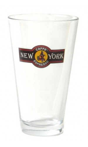 Caffe New York Kaffe Latte glas