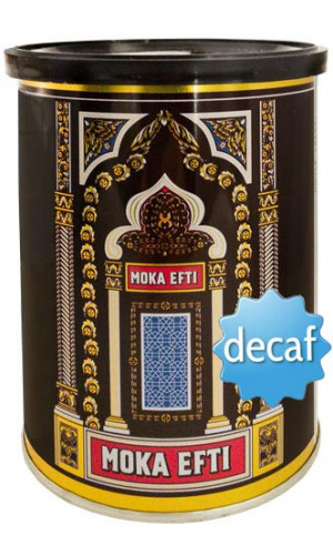 Moka Efti 250g whole bean without caffeine