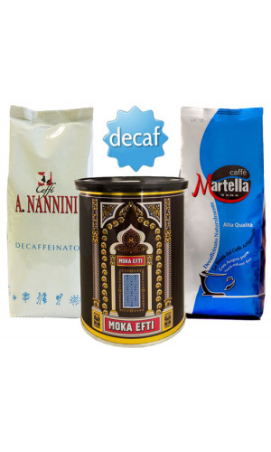 Espresso Beans Tasting Set - Without Caffeine 1250g